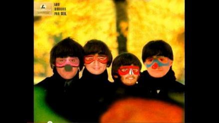 Los Drugos recrean portadas de álbumes de The Beatles