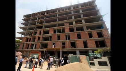 Sector construcción crecería hasta 15% este año
