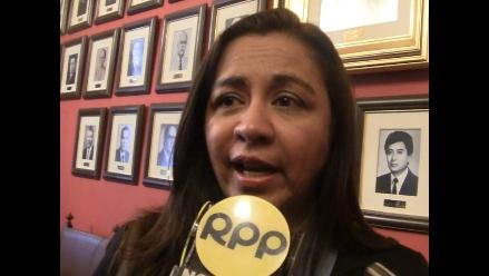 Trujillo: Marisol Espinoza invoca a docentes a no perder el año