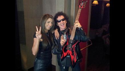 Álex Lora y Pilar Montenegro felices de cantar en la Teletón