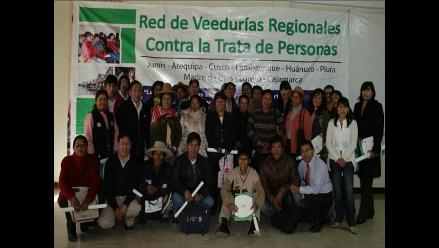 Evalúan trabajo contra la trata de personas en doce regiones del Perú