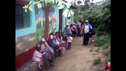 Promoviendo la salud en la comunidad de Yanama