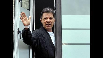 Juan Manuel Santos dado de alta tras operación de cáncer de próstata