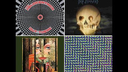 Diez famosas portadas de discos con ilusiones ópticas