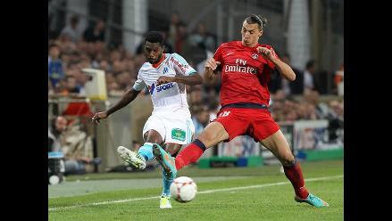 PSG empató 2-2 con Olympique de Marsella en el clásico francés