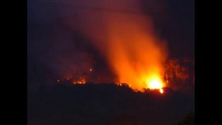Madre de Dios: Incendio consume 45 viviendas en distrito de Huepetuhe