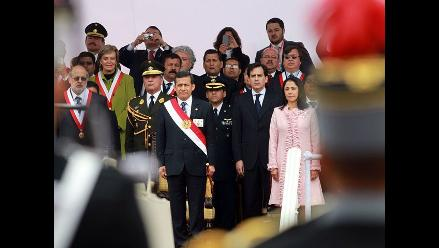 Presidente Humala encabeza ceremonia por Combate de Angamos