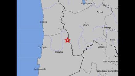 Fuerte sismo sacude tres regiones del norte de Chile