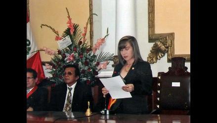 Municipio de Chiclayo entra en austeridad financiera anuncia alcaldesa