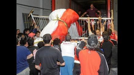River Plate entra a los Guinness con la bandera más larga del mundo
