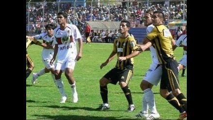 Cobresol empató sin goles frente a Inti Gas por Torneo Descentralizado