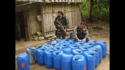 Huánuco: Decomisan nueve kilos de alcaloide de cocaína en Monzón