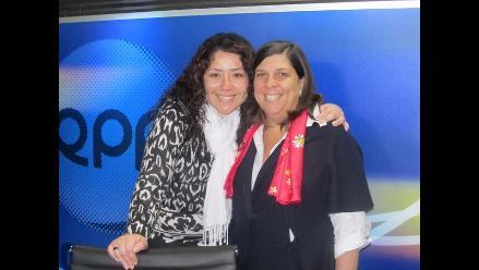 Rosa María Palacios se encuentra con su clon en Los Chistosos