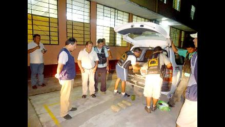 Ayacucho: Hallan 28 paquetes de droga en la bodega de un ómnibus