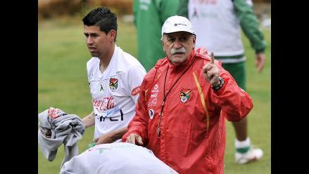 Xabier Azkargorta confía en un triunfo de Bolivia sobre Perú