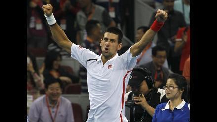 Novak Djokovic se clasificó a cuartos de final del Masters de Shanghai