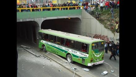 Al menos 32 heridos en accidente en Óvalo Higuereta