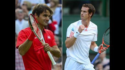 Federer-Murray y Djokovic-Berdych, las semifinales del Masters de Shanghái