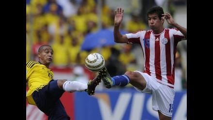 Paraguayos Víctor Cáceres y Marcelo Estigarribia no jugarán ante Perú