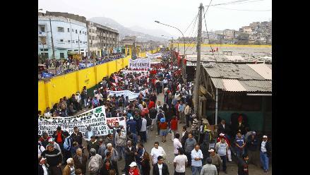 Transportistas incumplen zona rígida en La Parada