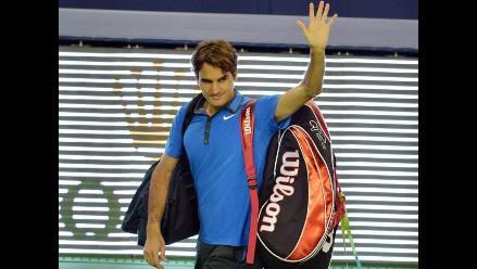 Roger Federer cayó ante Andy Murray en semis del Masters de Shanghai