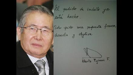 Fujimori pide una ´respuesta franca y objetiva´ a su pedido de indulto
