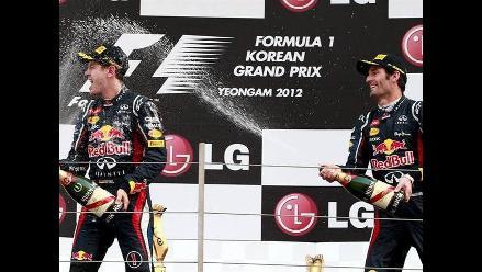Sebastian Vettel ganó el GP de Corea de Fórmula Uno