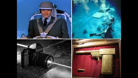 Las diez mejores armas y acesorios de James Bond