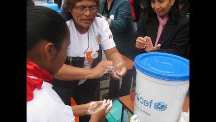 Lavado de manos redujo en 45% diarreas infantiles desde el 2006