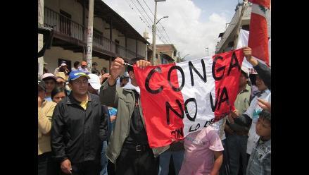 Cajamarca: Rondas campesinas anuncian un paro contra el proyecto Conga