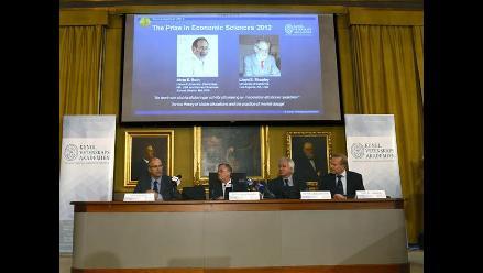 Estadounidenses Alvin Roth y Lloyd Shapley ganan el Nobel de Economía