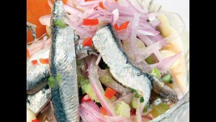 Receta del día: cebiche de anchoveta