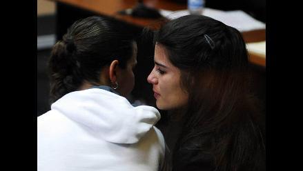 Caso Fefer: Allegados de Eva y Liliana llegan a lectura de sentencia