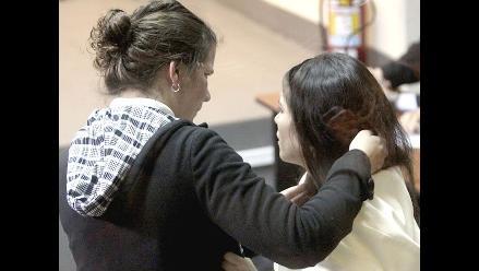 Imágenes de la sentencia a Eva Bracamonte y Liliana Castro