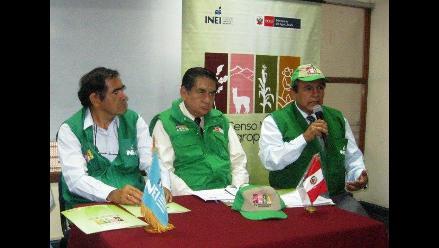 Piura: IV Censo Agropecuario se realiza en más de 60 distritos