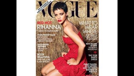 Rihanna se confiesa y posa sensual en portada de revista Vogue