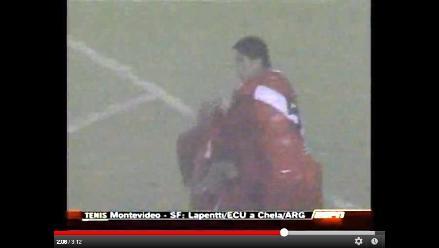 Recuerde el último partido de la selección peruana bajo tormenta