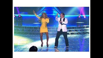 Mel B también baila el Gangnam Style