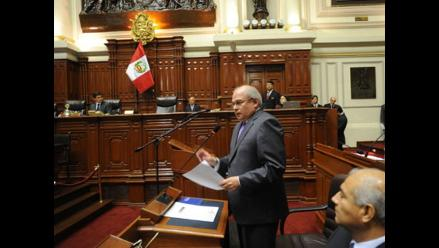 Ministro Cateriano niega que presidente le haya retirado su confianza