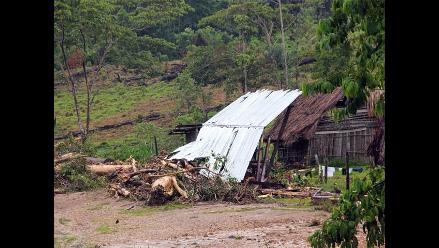 Aluvión arrasa localidad de El Porvenir en San Martín