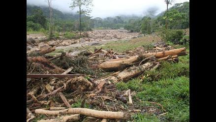San Martín: Damnificados fueron trasladados a Santa Rosa de Huallali