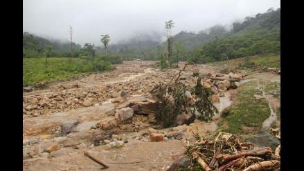 Gobernador de Picota solicita ayuda humanitaria tras aluvión