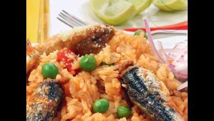 Receta del día: arroz con anchoveta