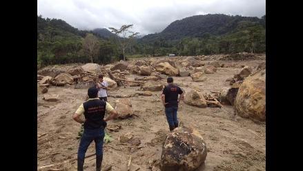 Aluvión en Picota: Sigue llegando ayuda humanitaria a zona del desastre