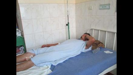 Un sobreviviente en medio de la tragedia en Tarapoto
