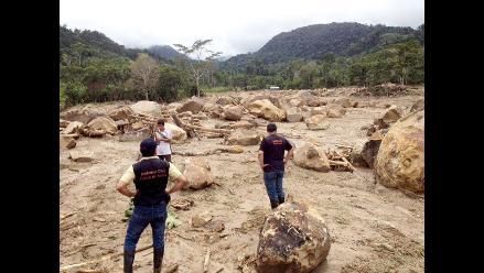 Conozca la identidad de los desaparecidos tras aluvión en Picota