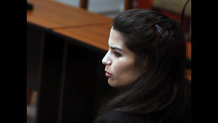 Eva Bracamonte recibió la visita de su padre en prisión