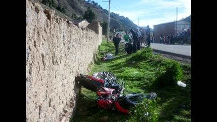 Tumbes: Agricultor murió tras chocar su moto con buzón de desagüe