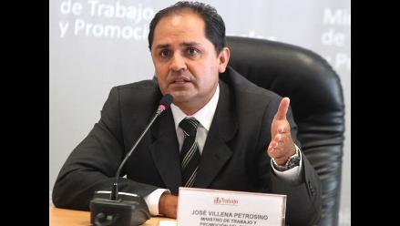 Villena: En las regiones hay una desprotección total de los trabajadores