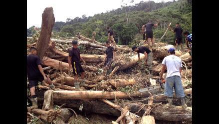 San Martín: Aumenta a 14 cifra de fallecidos tras aluvión en Picota